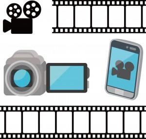 ビデオカメラやスマートフォンでの動画撮影